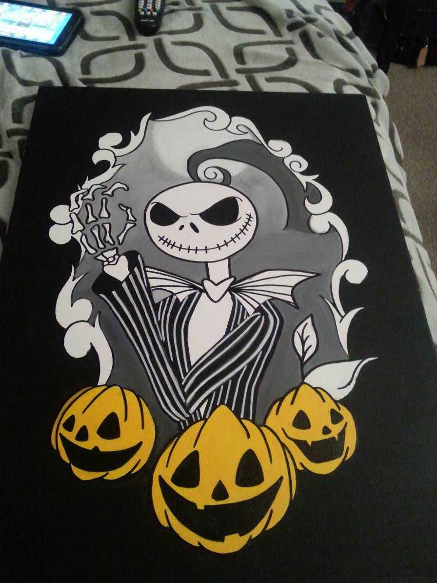 Nightmare Before Christmas Canvas Suit Pinstripes