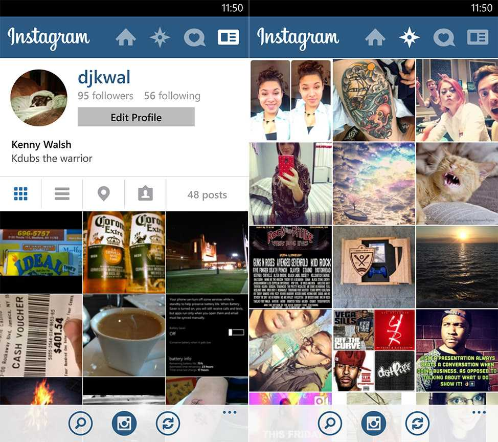 Instagram (Beta) on Windows Phone